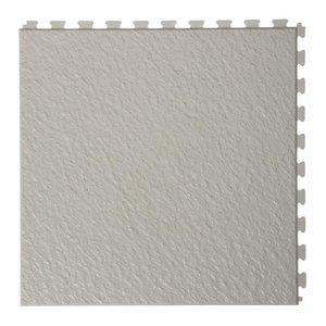 PVC kliktegel - motief: Leisteen - kleur: Lichtgrijs - Dikte 5mm