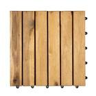 Harde PVC balkon tegels - Wood - Calgary-30x30cm