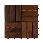 Harde PVC balkon tegels - Wood - Vancouver-30x30cm