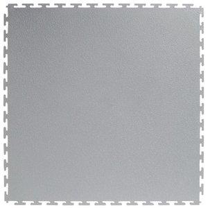 PVC kliktegel |Motief: Hamerslag(textured)| Kleur: Lichtgrijs | Dikte 4.5mm