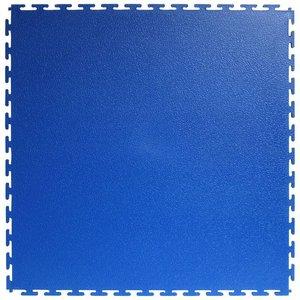 PVC kliktegel |Motief: Hamerslag(textured)| Kleur: Blauw | Dikte 4.5mm