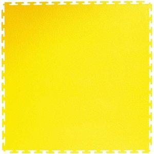 PVC kliktegel | Motief: Hamerslag (textured)| Kleur: Geel | Dikte 4.5mm