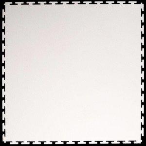PVC kliktegel | Motief: Hamerslag (textured) | Kleur: Wit | Dikte 4.5mm