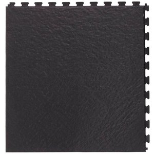 PVC kliktegel - motief: Leisteen - kleur: Zwart- Dikte 5mm - Recycled