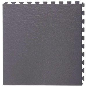PVC kliktegel | Motief: Leisteen | Kleur: Grijs | Dikte 5mm | Recycled