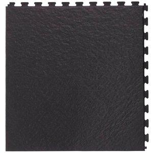 PVC kliktegel | Motief: Leisteen | Kleur: Zwart | Dikte 5mm