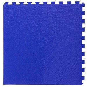 PVC kliktegel - motief: Leisteen - kleur: Blauw - Dikte 5mm