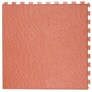 PVC kliktegel - motief: Leisteen - kleur: Terracotta - Dikte 5mm