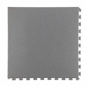 PVC kliktegel - motief: Hamerslag - kleur: Donkergrijs- Dikte 5mm