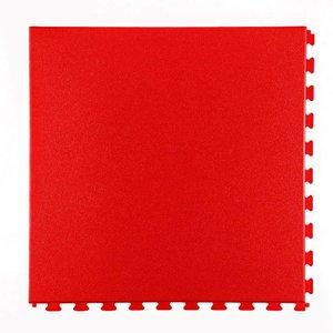 PVC kliktegel - motief: Hamerslag - kleur: Rood - dikte 5mm