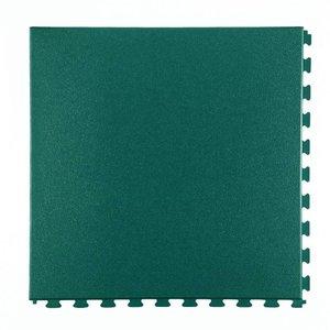 PVC kliktegel - motief: Hamerslag - kleur: Groen- dikte 5mm