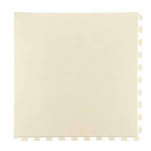 PVC kliktegel - motief: Hamerslag - kleur: Zandkleur - dikte 5mm