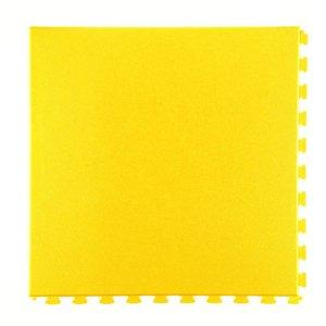 PVC kliktegel - motief: Eclipse Mini - kleur: Geel- dikte 5mm
