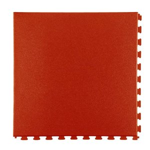 PVC kliktegel - motief: Eclipse Mini - kleur: Terracotta- dikte 5mm