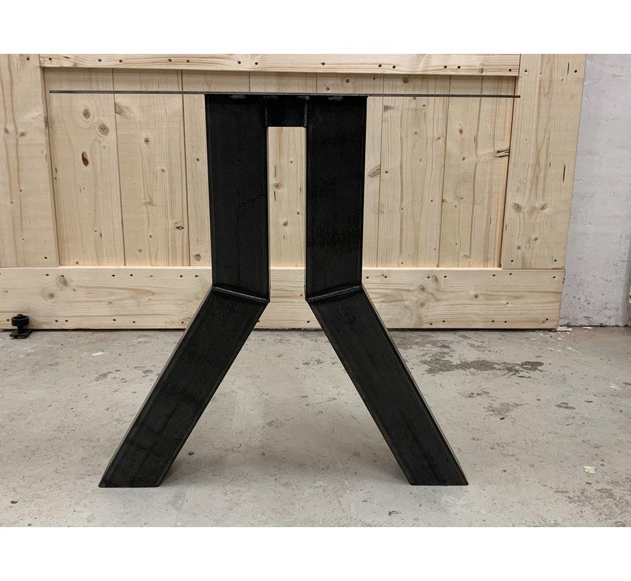 Omgekeerde Y poten staal 10x10 cm