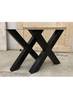 Doinq stalen X poten  (set van 2 kruispoten)