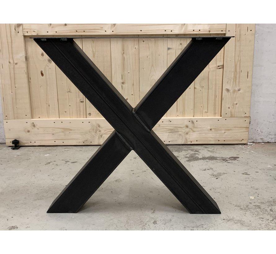 stalen X poten (set van 2 kruispoten)