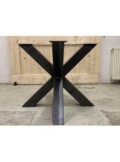 Doinq Dubbele kruispoot staal (ronde bladen)