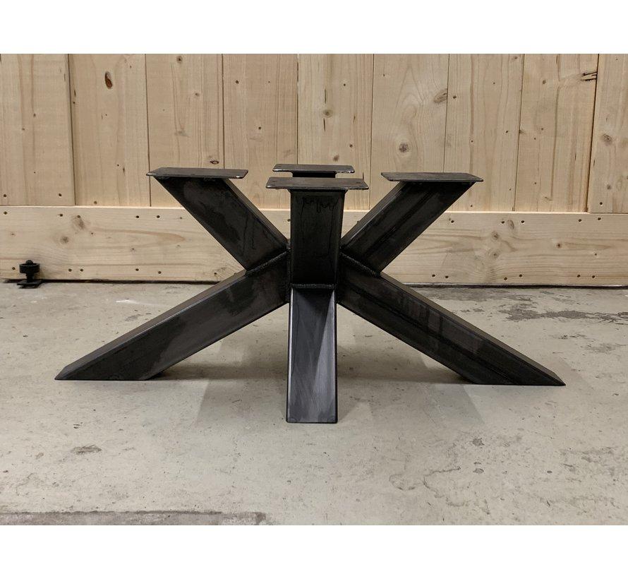 Stalen Matrix onderstel salontafel 80x80   * Gratis thuis bezorgd