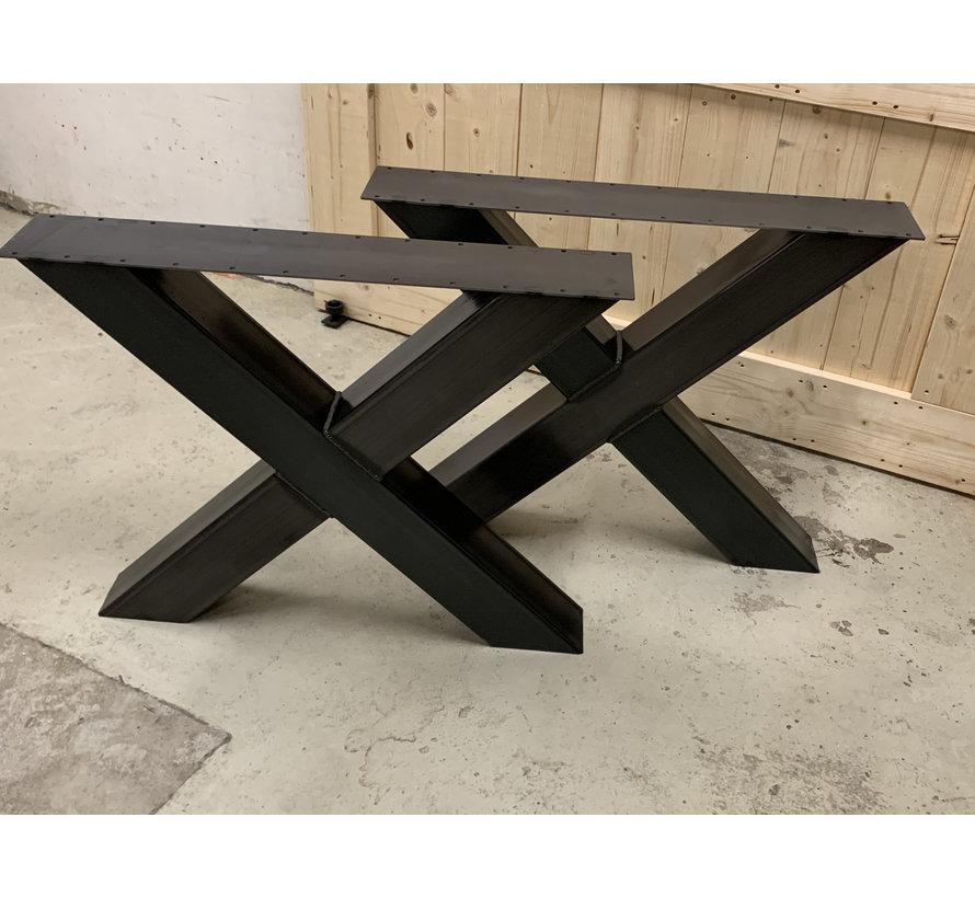 Robuuste X poten koker 12x12 cm (set van 2)   * Gratis thuis bezorgd!