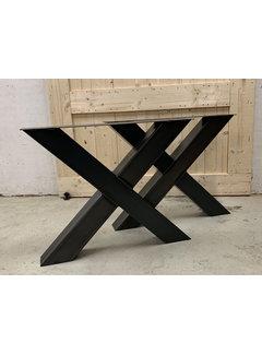 Doinq Robuuste X poten koker 12x12 cm (set van 2)