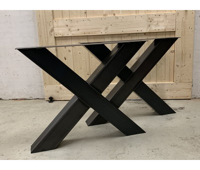 Doinq Robuuste X poten koker 12x12 cm (set van 2)   * Gratis thuis bezorgd!
