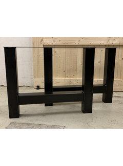 Doinq Industriële stalen H poten (set van 2)