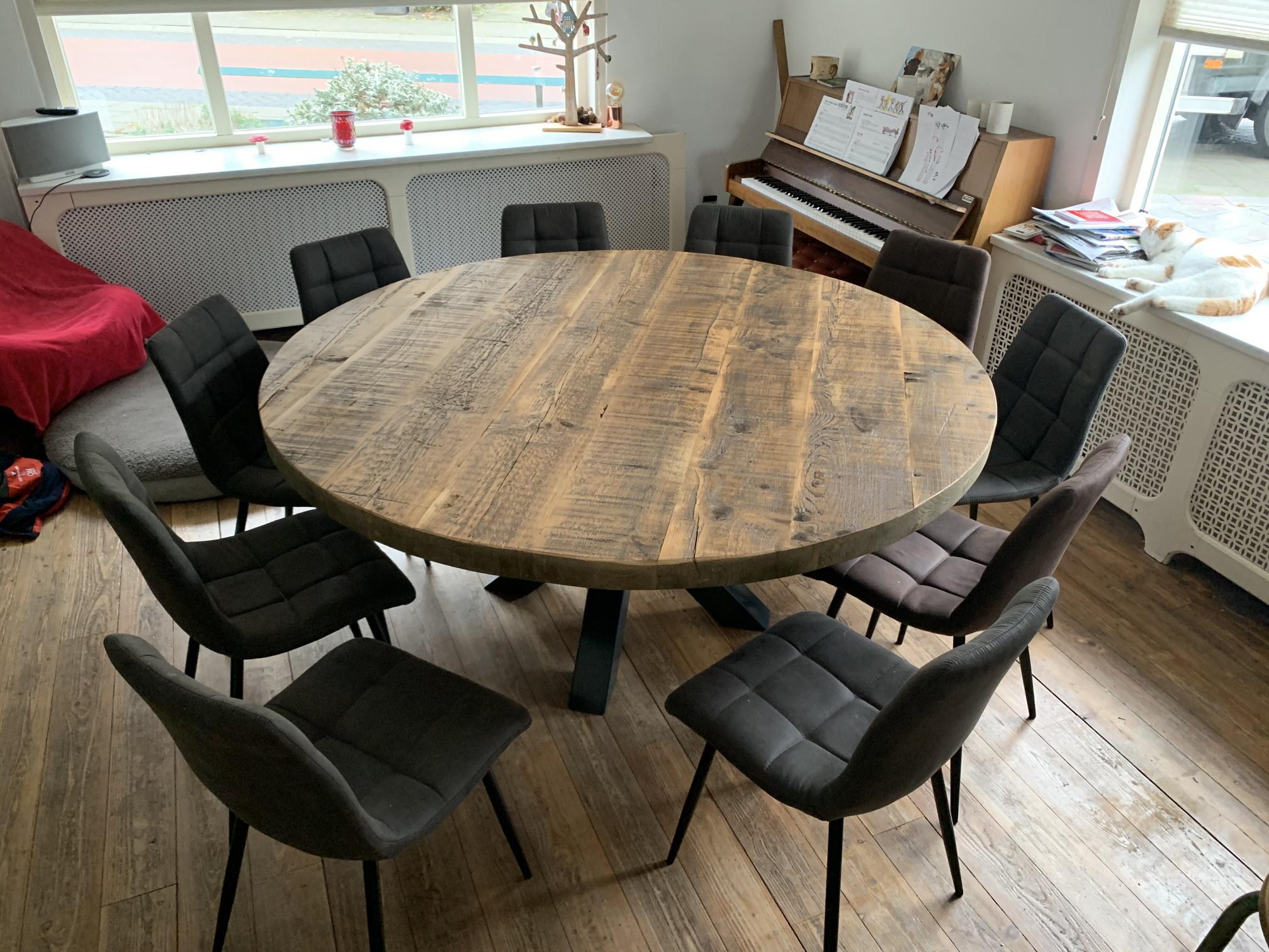 Ongebruikt Ronde tafel 180 cm! | Prachtige sfeervolle ronde tafel tot wel 180 AM-24