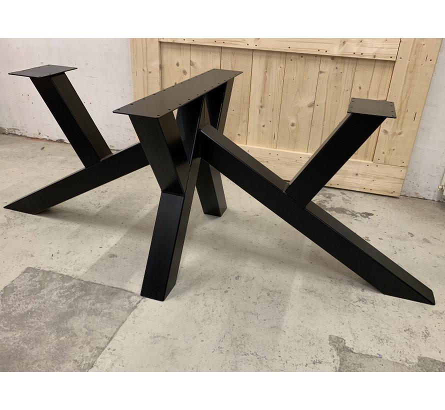 Dubbele W onderstel staal