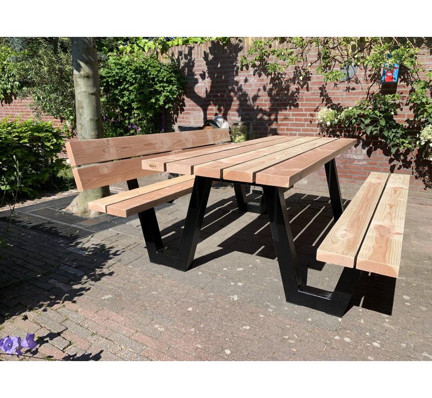 Rugleuning set picknicktafel