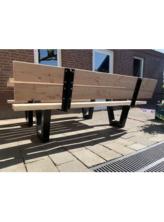 Doinq Rugleuning set picknicktafel