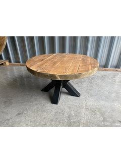 Doinq Ronde salontafel  gebruikt oud hout