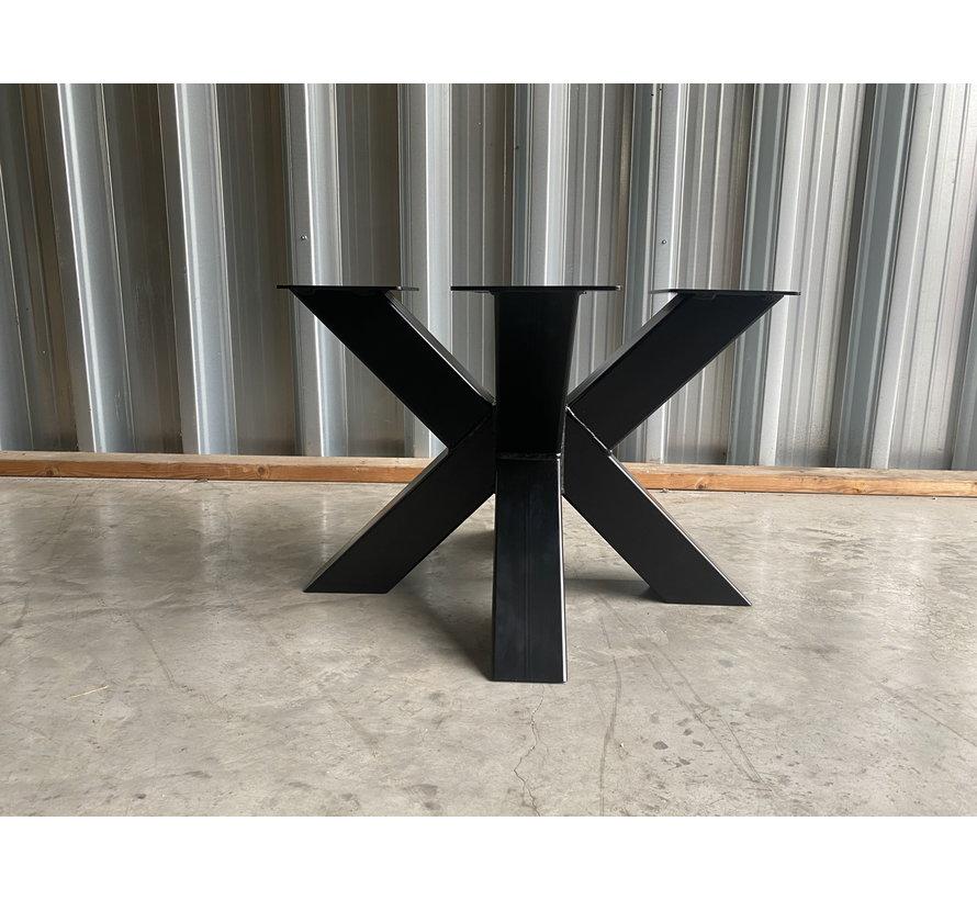 Salontafel dubbele X (ronde bladen)