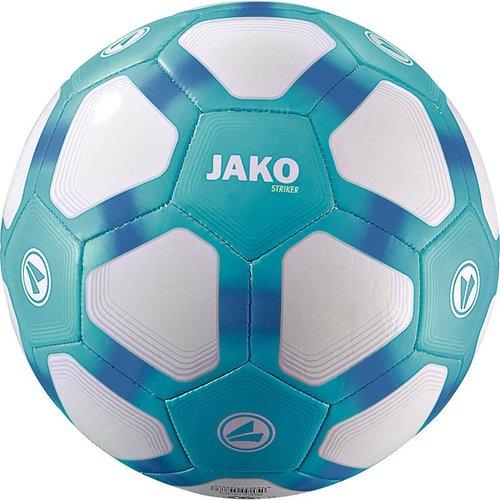 Jako JAKO Lightbal Striker (32 p./machinegenaaid) - Wit/Aqua/Jako Blauw-350G