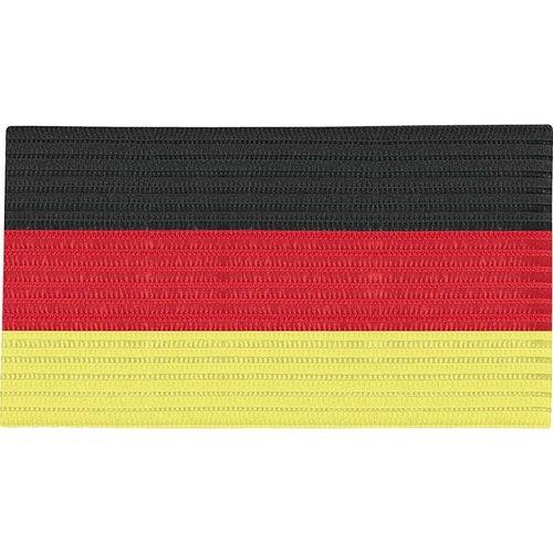 Jako JAKO Aanvoerdersband - Zwart/Rood/Geel