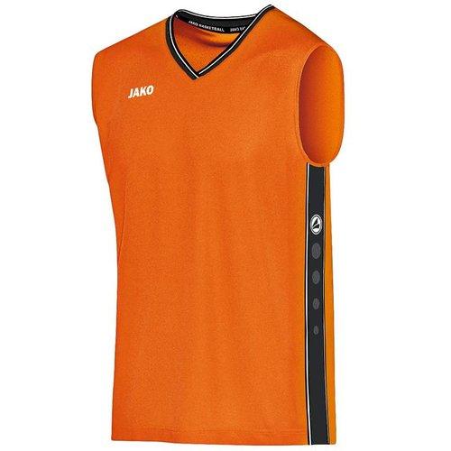 Jako JAKO Shirt Center - Fluo Oranje/Zwart