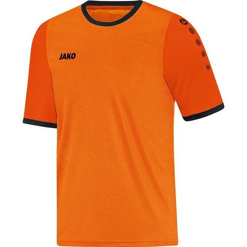 Jako JAKO Shirt Leeds KM - Fluo Oranje/Oranje/Zwart