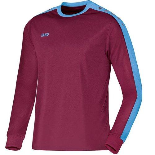 Jako JAKO Shirt Striker LM - Bordeaux/Hemelsblauw