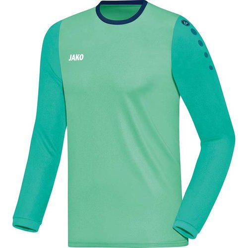 Jako JAKO Shirt Leeds LM - Munt/Smaragd/Navy