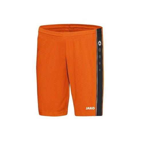 Jako JAKO Short Center - Fluo Oranje/Zwart