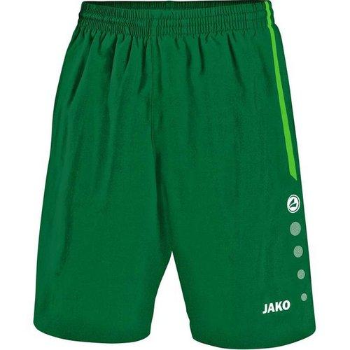 Jako JAKO Short Turin - Groen/Sportgroen
