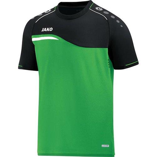 Jako JAKO T-shirt Competition 2.0 - Soft Groen/Zwart