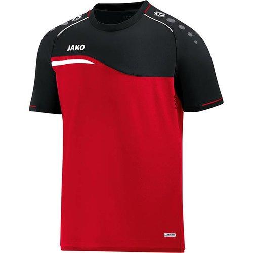 Jako JAKO T-shirt Competition 2.0 - Rood/Zwart