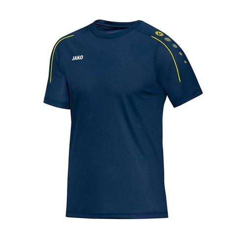 Jako JAKO T-shirt Classico - Nachtblauw/Citroen