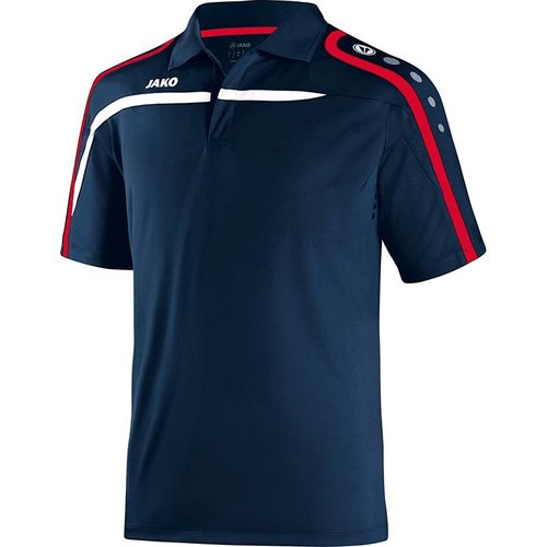 Jako JAKO Polo Performance - Marine/Wit/Rood