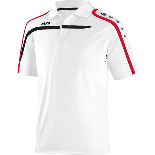 Jako JAKO Polo Performance - Wit/Zwart/Rood
