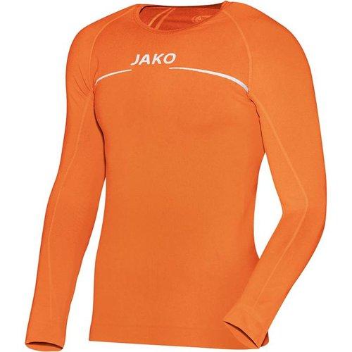 Jako JAKO Shirt Comfort LM - Fluo Oranje