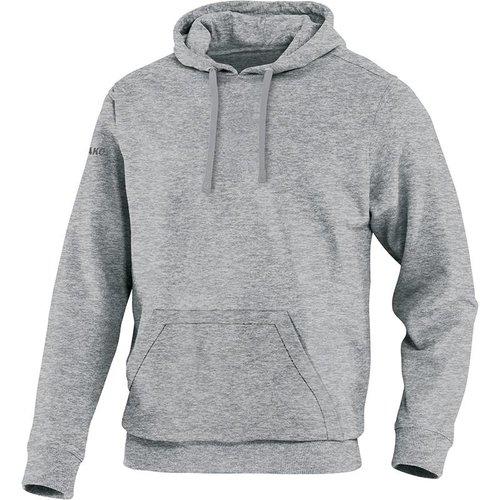 Jako JAKO Sweater met kap Team - Grijs Gemeleerd