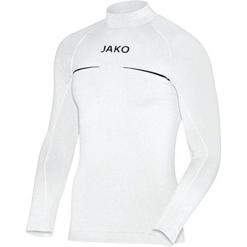 Jako JAKO Shirt opstaande kraag Comfort - Wit