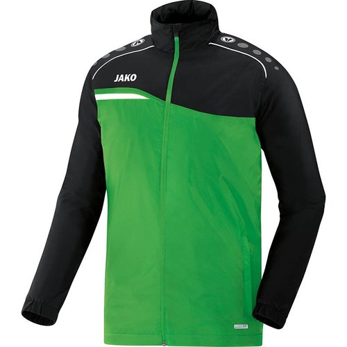 Jako JAKO Regenjas Competition 2.0 - Soft Groen/Zwart